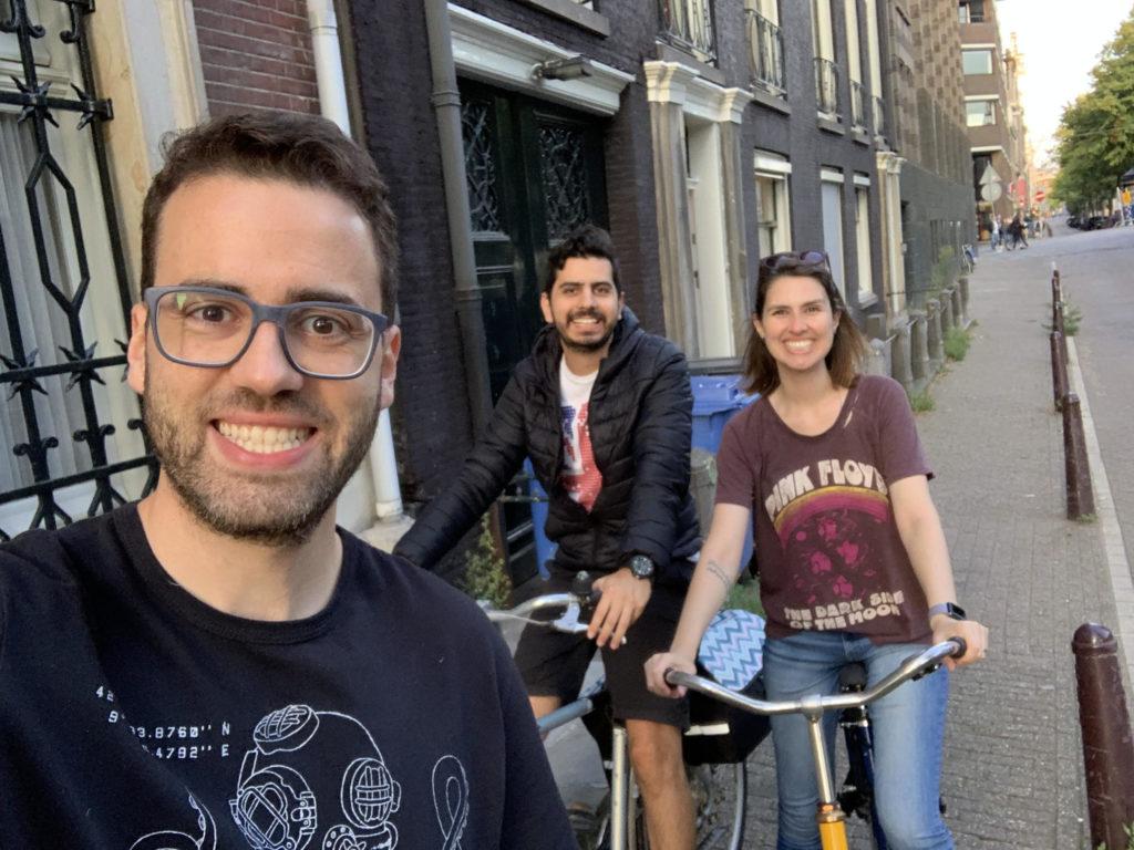 Bicicleta em Amsterdam